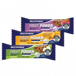 Die Fruit Power Riegel von Multipower.